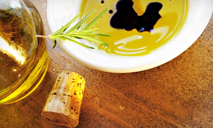 Olive! - Destin: $10 for $20 Worth of Organic Olive Oil and Vinegar with Complimentary Tasting and Balsamic-Vinegar Yogurt at Olive!