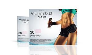 Vitamin B12 and Guarana Slimming Patches (1-, 2-, or 3-Pack)