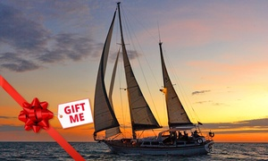 Starsand Yacht Charters: Twilight Sail with Sparkling Wine - Midweek ($69) or Weekend ($99) with Starsand Yacht Charters (Up to $210 Value)