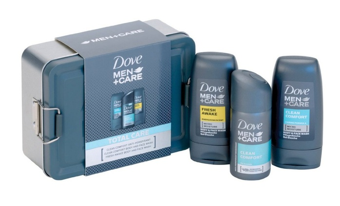 Dove Men+Care Total Care Men's Gift Sets from £10 (Up to 67% Off)