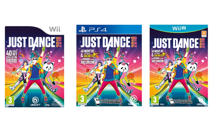 Just Dance 2018 di Ubisoft