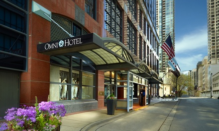 4.5-Star Omni Chicago Suites in Downtown Chicago