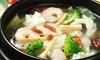 広島県/八丁堀 ≪4種から選べる鍋、肉・海鮮・野菜など選べる中華他9品+飲み放題120分≫