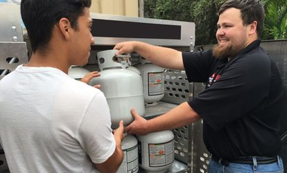 image for Propane Tank Exchange or $25 Toward a New Tank at Miami <strong>Home</strong> Centers- South Beach