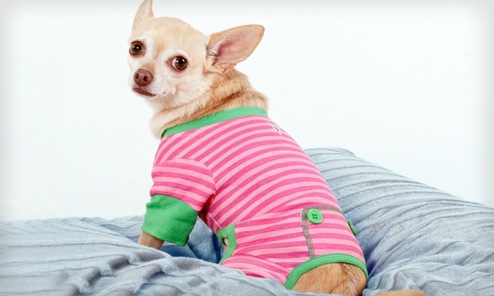 Lookin' Good Pet Pajamas: Lookin' Good Pet Pajamas (Up to Half Off). Multiple Styles and Sizes Available. Free Returns.