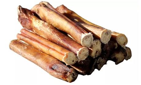"""Downtown Pet Supply 100% Beef 6"""" Bully Sticks for Dogs (5-,10-,15-Pack)"""