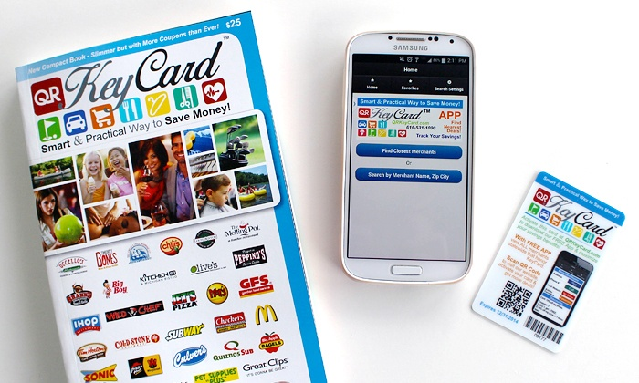 KeyCard - Multiple Locations: $9 for 2014 Discount Membership to KeyCard ($25 Value)