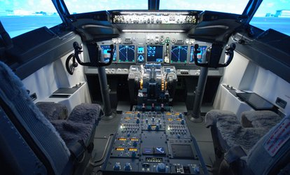 image for One-Hour Boeing 737 Flight Simulator Experience for One at Jet Sim School (60% Off)