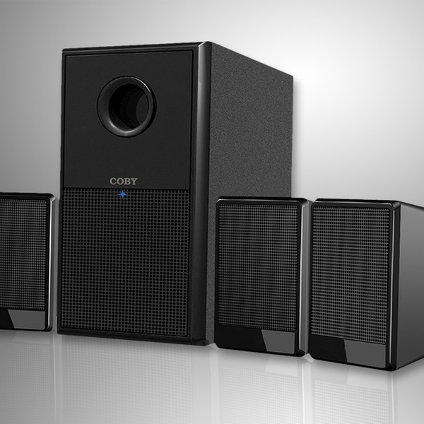 Coby Home Theater Speaker System Groupon Goods