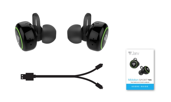 up to 75 off on jarv bluetooth stereo earbuds groupon goods. Black Bedroom Furniture Sets. Home Design Ideas