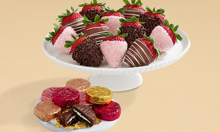$27 for 8 Mother's Day Oreos and Full Dozen Mother's Day Strawberries from Shari's Berries (46% Off)