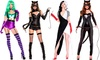 Music Legs Women's Sexy Movie Villain Costumes
