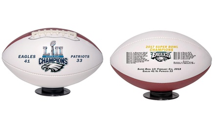 Philadelphia Eagles Super Bowl 52 Champions Football