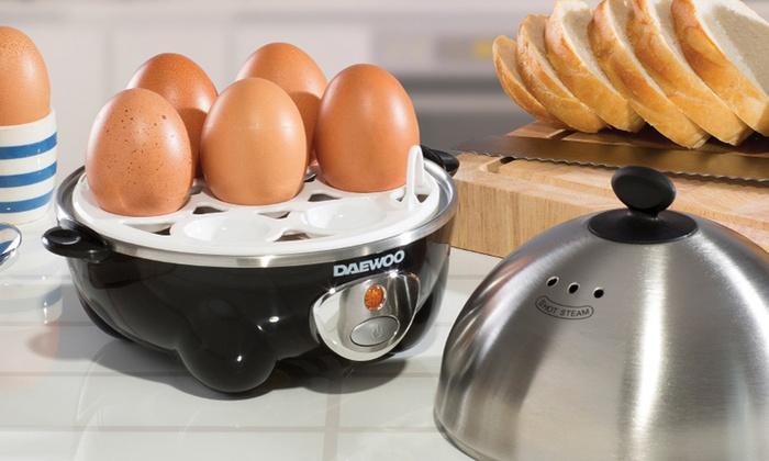 Daewoo Three-in-One Egg Boiler, Poacher and Omelette Maker