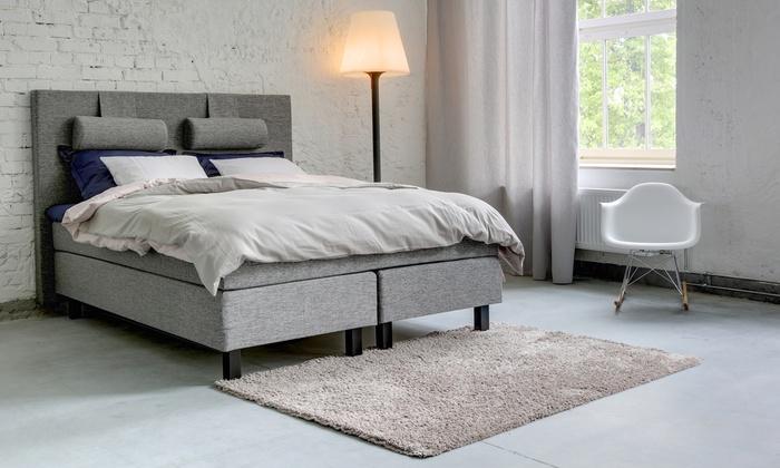 bis zu 39 rabatt boxspringbett pisa continental groupon. Black Bedroom Furniture Sets. Home Design Ideas