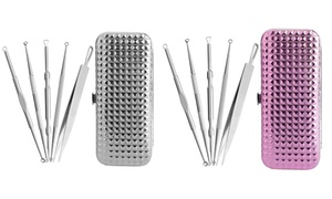 Blemish and Blackhead Remover Tool Kit with Case (5-Piece) at Blemish and Blackhead Remover Tool Kit with Case (5-Piece), plus 6.0% Cash Back from Ebates.