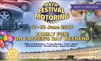 Bath Festival of Motoring: Entry for Two Adults or a Family of Five, 17 - 18 June 2017 (Up to 28% Off)