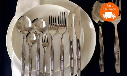 $99 for a Mayfair Home 100Piece Stainless Steel Cutlery Set