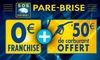 Sos Pare Brise Plus - Plusieurs adresses: Remplacement du pare-brise à 0 € de franchise avec 50 € de carburant offert à 5 €chez Sos Pare Brise Plus