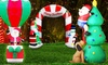 Christmas Inflatables with LEDs