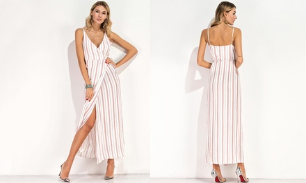Boho Style Maxi Striped Dress: One ($19) or Two ($29)