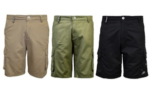 Men's Flat-Front 100% Cotton Shorts