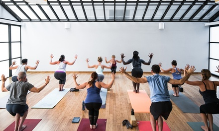 $39 for One Month of Unlimited Yoga Classes at YogaWorks Charm City ($89 Value)