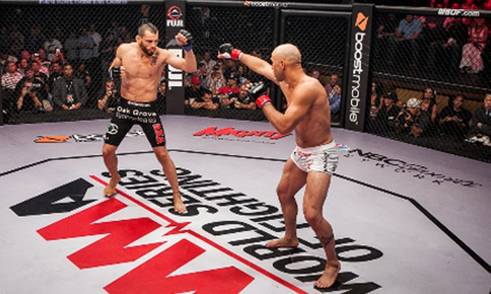 World Series Of Fighting 6 - University of Miami: MMA World Series of Fighting 6 on Saturday, October 26, at 5 p.m. (Up to 46% Off). Three Seating Options Available.