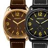 Argenti Da Vinci Men's Genuine Leather Watch