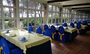 EL BALCON DE GRIÑON: Menú para 2 o 4 con aperitivo, entrante, parrillada, postre y botella de vino desde 24,95€ en El Balcón de Griñón