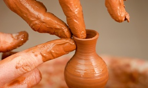 FeelArtistic: One 90-Minute Pottery Class for One or Two at FeelArtistic (Up to 42% Off)
