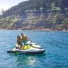 Excursión en una moto de agua
