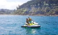 Excursión de 1 hora en una moto de agua para hasta 4 personas desde 59,95 € en Playaventura Gijón