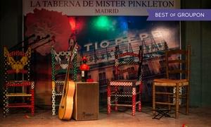 La Taberna de Mister Pinkleton: Espectáculo flamenco con bebida para 2 y opción a cena premium con vino desde 29,95 € en la Taberna de Mister Pinkleton