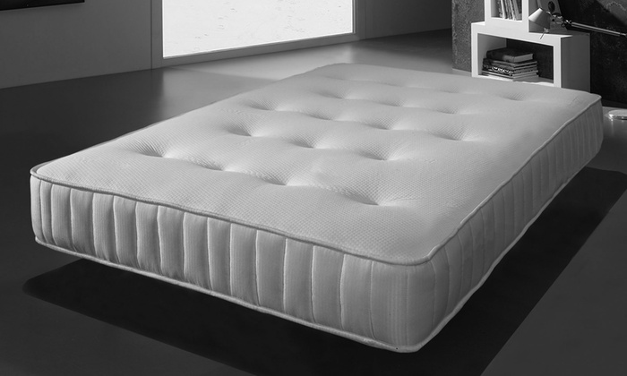 Cleo Memory Bonnell Sprung Mattress in Choice of Size
