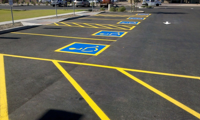 Fabian's Steam Clean /Parking Lot Medic - Oklahoma City: $384 for $800 Worth of Services — Parking Lot Medic