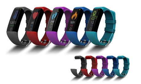 Reloj inteligente Smartek con 5 correas incluidas