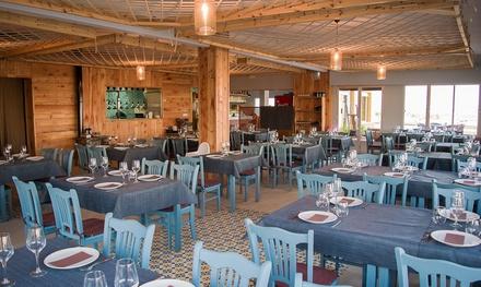Menú para 2 o 4 a elegir entre mediterráneo y premium con principal de entrecot o arroz desde 29,95€ en Venta El Sabinar