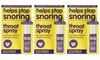 Anti-Snoring Throat Spray 9ml Three-Pack