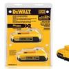 DeWalt 20V Max Compact XR Li-Ion Battery (2-Pack)