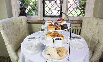 image for Champagne Afternoon Tea for Two or Four at Seckford Hall Hotel and Restaurant