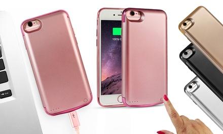 Slim opladercase met ingebouwde Power Bankbatterij voor iPhone 6 / 6S / 7 en 6 + / 6S + / 7 +