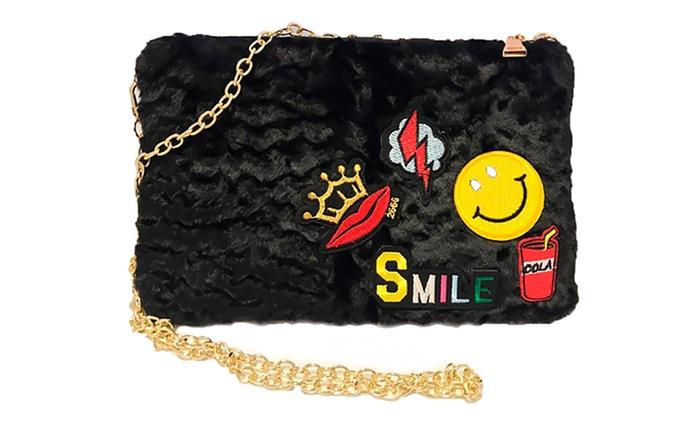 Bolso de hombro Smile para mujer por 14,99 € (50% de descuento)