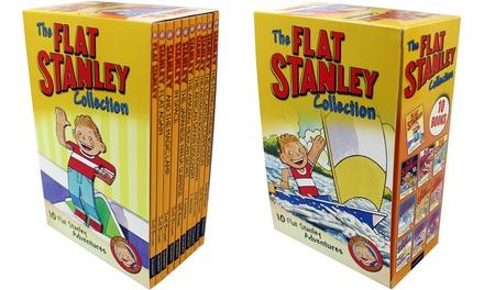 Ten Flat Stanley Books