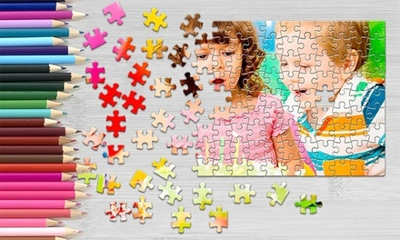 Personalised Jigsaw Puzzle in Choice of Size from Printerpix