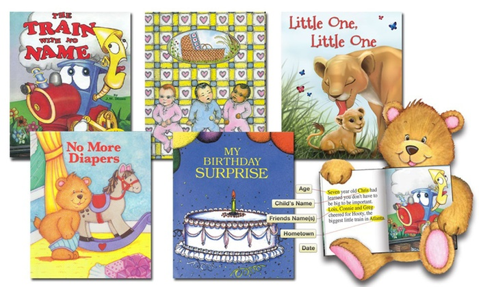 c24425c3f6d Up to 62% Off Personalized Children's Books from Just-4Me.com