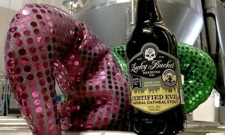 Mardi Gras Party for 2 or 4 at Lucky Bucket Brewing Company & Cut Spike Distillery on March 1 (Up to 45% Off)