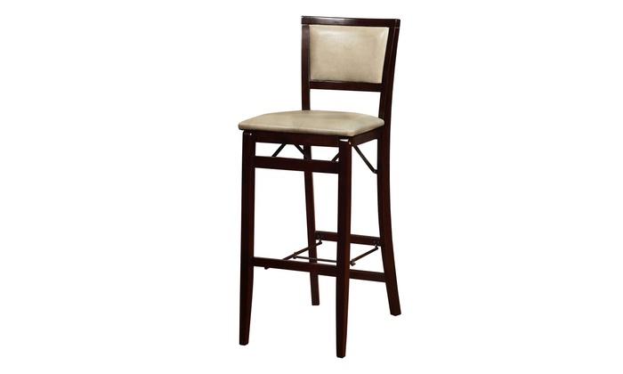 Jute Pad Back Folding Bar Stool  sc 1 st  Groupon & Jute Pad Back Folding Bar Stool | Groupon Goods islam-shia.org