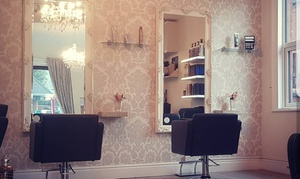 The Cutting Lounge: Wash, Cut and Finish with Half- or Full-Head Highlights at The Cutting Lounge (Up to 65% Off)