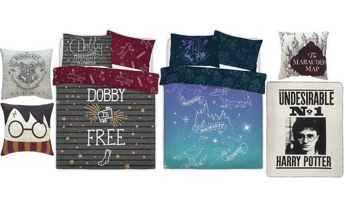 Warner Bros Harry Potter Bedding Range (£8)